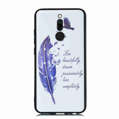 TPU Frosted Starry Sky Painted Phone Case for Xiaomi Redmi 8