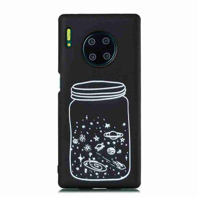 TPU Frosted Painted Phone Case for Huawei Mate 30 Pro