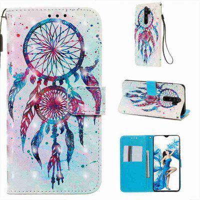 Golden Butterfly 3D Painted PU Phone Case for Xiaomi Redmi Note 8 Pro