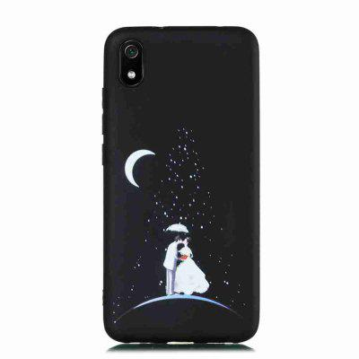 TPU Frosted Starry Sky Painted Phone Case for Xiaomi Redmi 7A