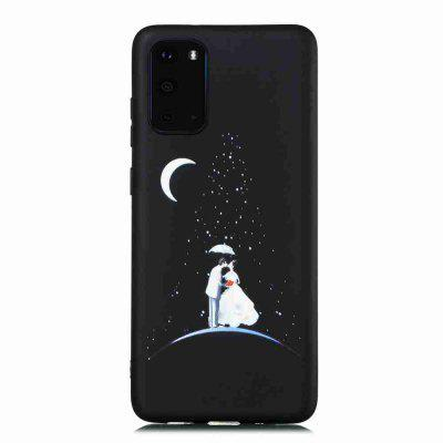 TPU Frosted Starry Sky Painted Phone Case for Samsung Galaxy S20 Ultra