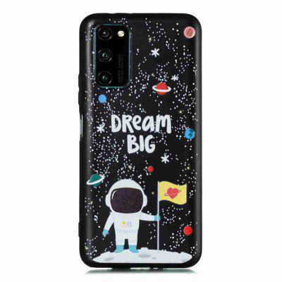 TPU Frosted Starry Sky Painted Phone Case for Huawei Honor V30 Pro