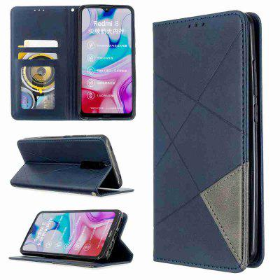 Diamond Stitching PU Phone Case for Xiaomi Redmi 8