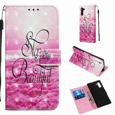 Multi-Modello 3D Painted Phone Case PU per Samsung Galaxy Note 10
