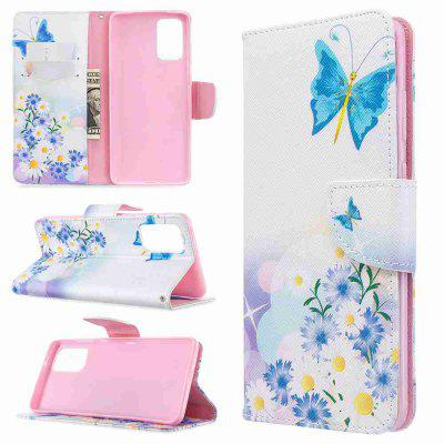 Multi-Pattern Painted PU Phone Case for Samsung Galaxy S20 Plus