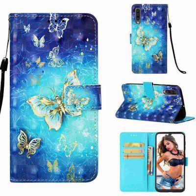 Multi-Pattern 3D Painted PU Phone Case for Samsung Galaxy A50 / A50S / A30S