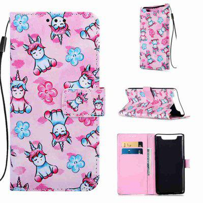 Multi-Pattern Painted PU Phone Case for Samsung Galaxy A80 / A90