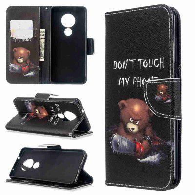 Multi-Pattern Painted PU Phone Case for Nokia 6.2 / Nokia 7.2