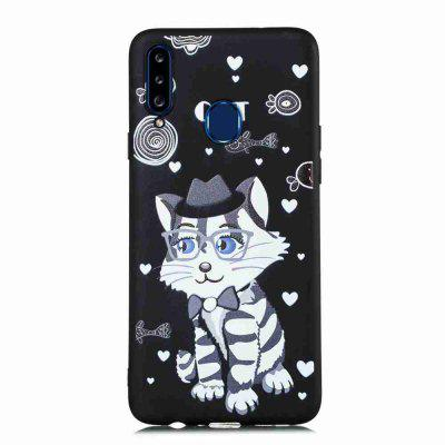 TPU  Painted Phone Case for Samsung Galaxy A20S
