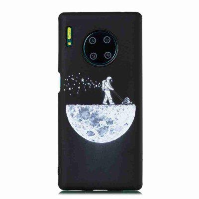 frosted starry sky painted tpu phone case for huawei mate 30 pro