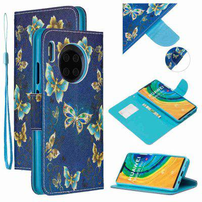 Multi-Pattern Painted PU Phone Case for Huawei Mate 30 Pro