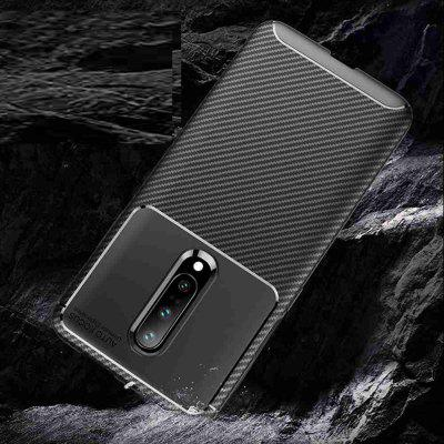 Beetle Carbon Fiber Solid Color Phone Case for One Plus 7 Pro