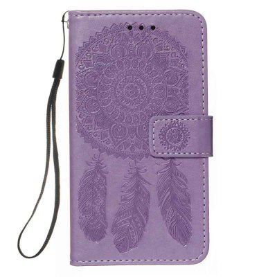 Dream Catcher Embossing PU Phone Case for Samsung Galaxy A20S