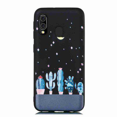 TPU Frosted Starry Sky Painted Phone Case for Samsung Galaxy A20E