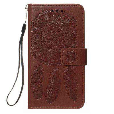 Dream Catcher Embossing PU Phone Case for Samsung Galaxy A10S