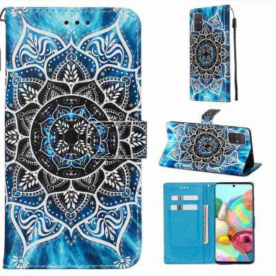 Stray Earth Painted PU Phone Case for Samsung Galaxy A71