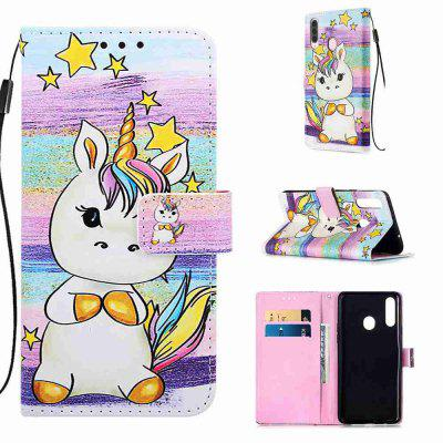 Stray Earth Painted PU Phone Case for Samsung Galaxy A20S