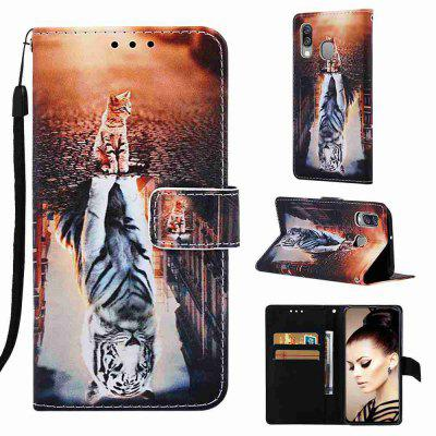 Stray Earth Painted PU Phone Case for Samsung Galaxy A40