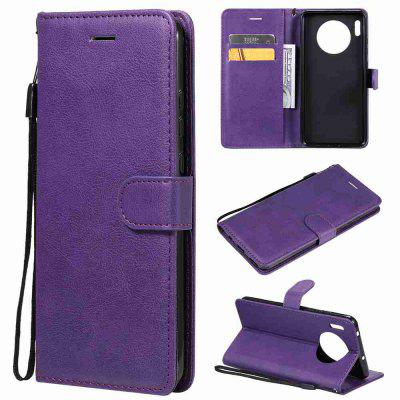 Solid Color PU Phone Case for Huawei Mate 30