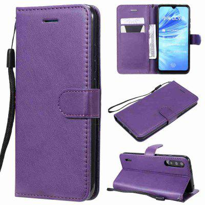 Solid Color PU Phone Case for Xiaomi Mi CC9e
