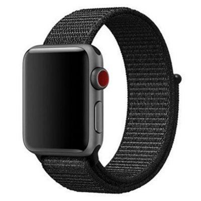 For Apple Watch Band Series 5 4 3 2 1 Breathable Woven Nylon strap