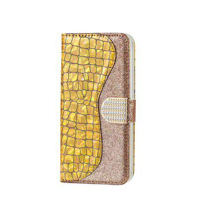 Capa de Celular PU Flash Powder para Iphone 11 Pro