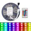 5M 5050 RGB 300 LEDs Strips Light Flexible and IR 24Key Remote Control Linkable - MULTI-A
