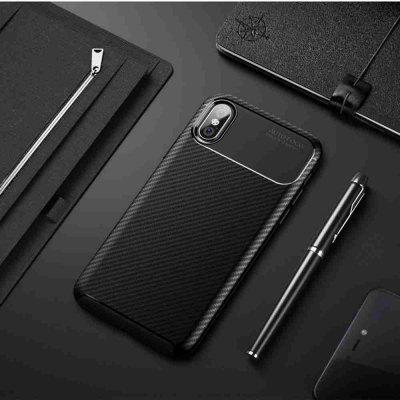 Beetle Carbon Fiber Phone pour iPhone iPhone X / X