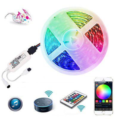 WiFi Intelligent Remote Dimming Waterproof 5M 300x5050 RGB SMD LED Strip Light