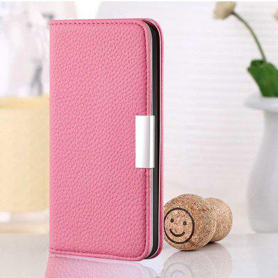Litchi Pattern Solid Color PU Phone Case for Iphone 11 Pro Max