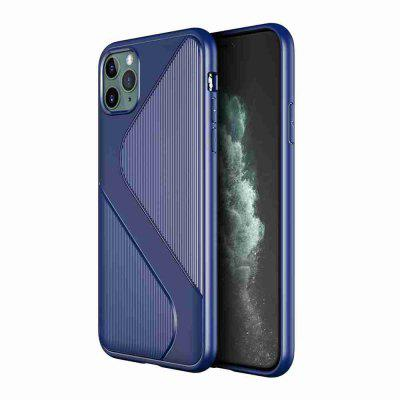 S Shape Pattern Carbon Fiber Phone Case for iPhone  11 Pro