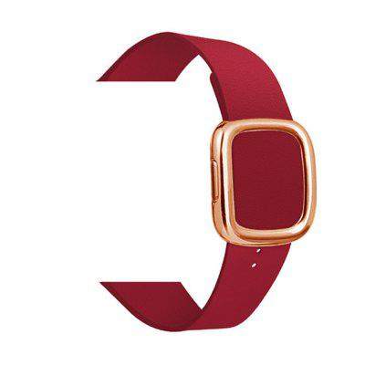 Watch Strap Modernism Leather Button Strap for Apple Watch iWatch5 38/40MM 42/44