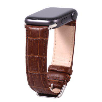 Crocodile Watch Strap Band for Apple Watch IWatch 5/4/3/2/1 38/40MM 42/44MM
