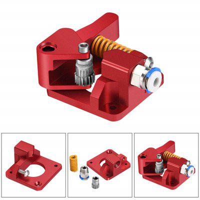3D Printer Accessories Cr-10s Pro End-3 BTech Double Pulley Extruder Red