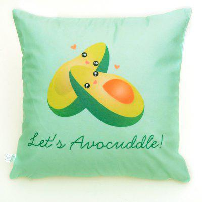 Printed polyester washed pillowcase45X45