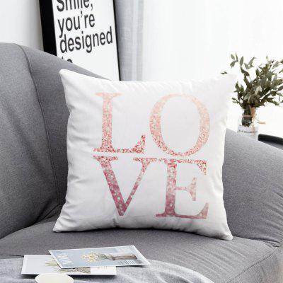 PC382Printed Polyester Washed Pillowcase 45X45