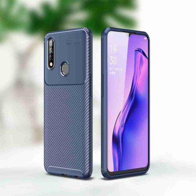 Carbon Fiber Phone Case voor Oppo A8