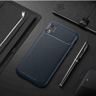 Carbon Fiber Phone Case for    iPhone Xr