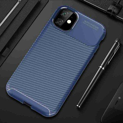Carbon Fiber Telefon tok iPhone 11 Pro