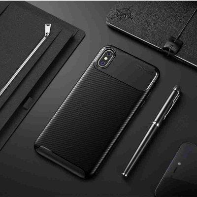 Beetle Carbon Fiber Phone Case for iPhone Xs Max