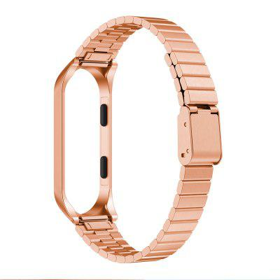 Metal Strap For Xiaomi Band 3 4 Watch Strap Stainless Steel Bracelet Wristband
