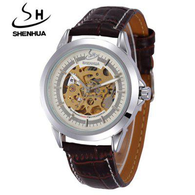 Shenhua 9262 Fashion Trend Hollow αυτόματη μηχανική Watch