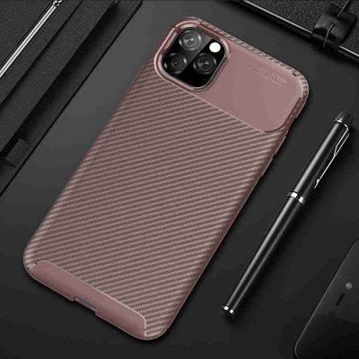 Carbon Fiber Phone Case voor iPhone 11