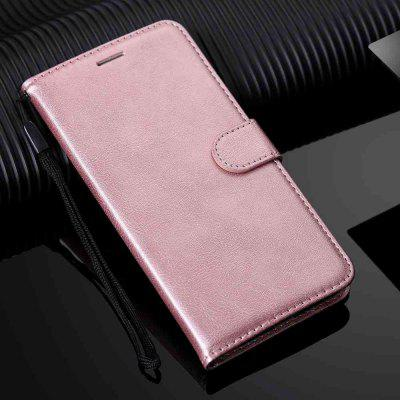 Solid Color PU TPU Phone Case for Samsung Galaxy S20