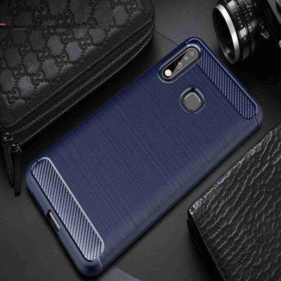 Brushed Carbon Fiber Phone Case for Samsung Galaxy A70E