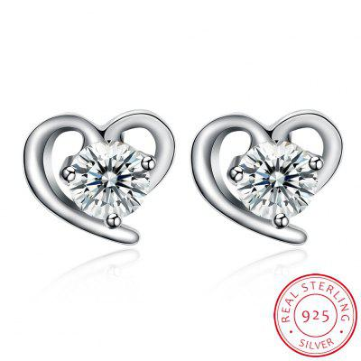Heart-Shaped Romantic Earrings