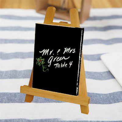 I155696 Wooden Frame Small Picture Board Easel (1 Set)