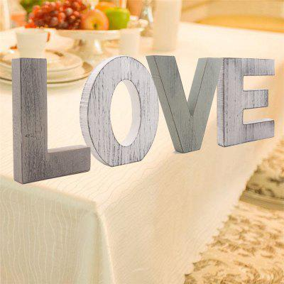 170301 Home Accessories Wedding Love Party Accessories (4 Sets)