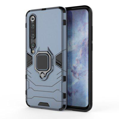 Ring Buckle Armour Case Magnetic Iron s držákem do auta pro Xiaomi Mi 10 Pro
