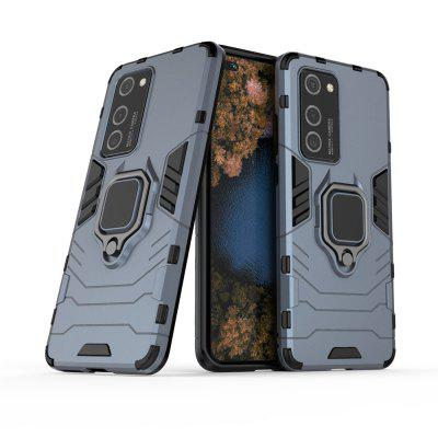 Ring Buckle Armour Case Magnetic Iron s držákem do auta pro Huawei P40 Pro